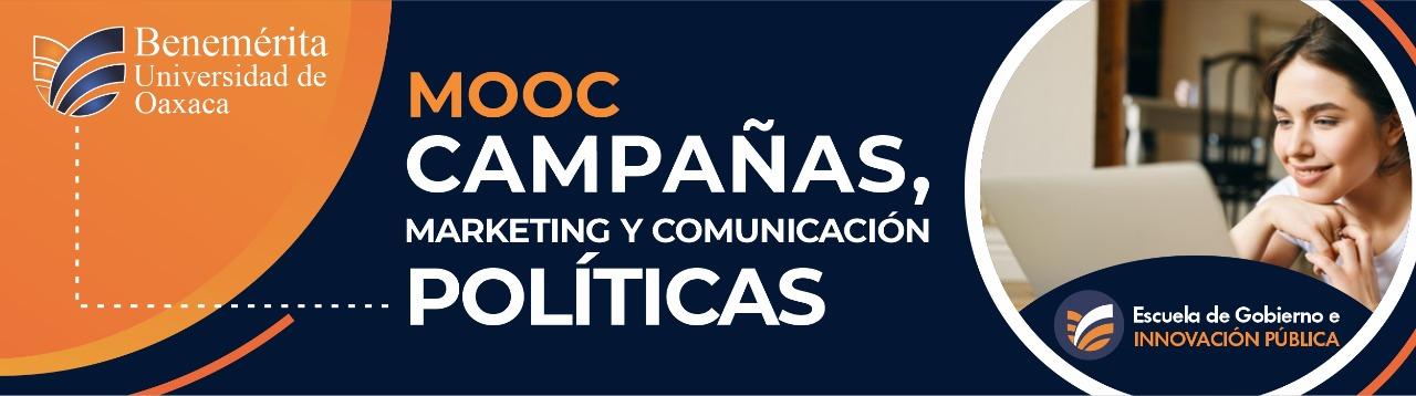 MOOC CAMPAÑAS, MARKETING Y COMUNICACIÓN POLÍTICA
